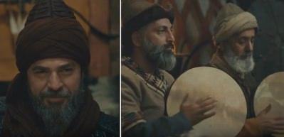 Diriliş Ertuğrul'da 'Allah Türk'e yar olsun' şarkısı ekrana kilitledi