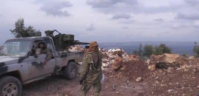 Divan Fevkani köyü ve 3 tepe PYD/PKK'dan temizlendi