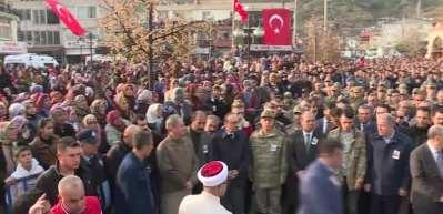 Şehit Piyade Uzman Onbaşı Halil İbrahim Akkaya, son yolculuğuna uğurlandı