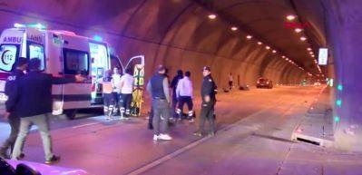 Dolmabahçe Tüneli'nde feci kaza:1 ölü