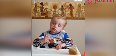 Dondurma ve uyku arasında gidip gelen çocuk!