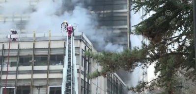 DSİ Genel Müdürlüğünde yangın