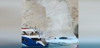 Dünyaca ünlü plaj çöktü! Çok sayıda yaralı var