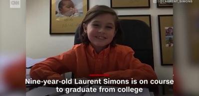 Dünyanın en genç üniversite mezunu olacaktı! Okulu bıraktı