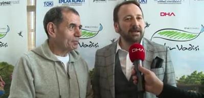 Dursun Özbek: Riva, Galatasaray'ın geleceğidir