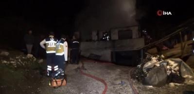 Düzce'de yangın felaketi! 3 çocuk öldü