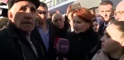 Deprem bölgesinde İYİ Parti tiyatrosu!