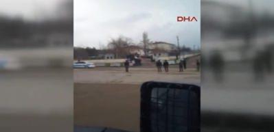 Elazığ'da görevli 22 özel harekat polisi Afrin'e uğurlandı