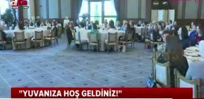 Emine Erdoğan büyükelçilerin eşlerini ağırladı