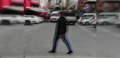 Eminönü'nde kurşun sesleri! Ortalık karıştı