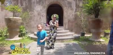 Endonezya'da Sultan Sarayı'nın diğer bölümü 'Su Sarayı'