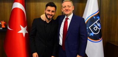 Enver Cenk Şahin'e Başakşehir sahip çıktı!