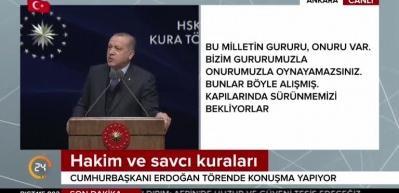 Erdoğan AB'ye resti çekti: Verecekseniz verin...
