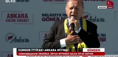 Erdoğan açıkladı: Emniyete sordum, tam 450 bin kişi...o