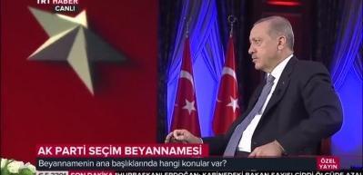 Erdoğan: Atatürk Havalimanı'nın olduğu yere Millet Bahçesi kurulacak