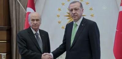 Erdoğan - Bahçeli ittifak buluşması