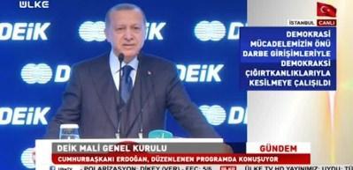 Erdoğan: Beni ipe götürmek senin haddine mi!