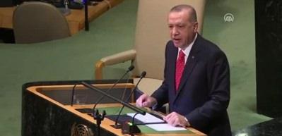 Erdoğan BM Genel Kurulu'nda konuştu