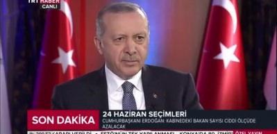 Erdoğan: 'Bürokratik oligarşinin prangalarını atacağız'