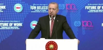 Erdoğan: Hangi başlıkları atarsanız atın, Türkiye dimdik ayaktadır