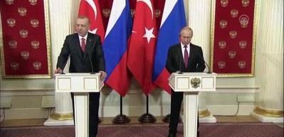 Erdoğan: İdlib'te terör örgütlerine karşı mücadelemiz ortak devam edecektir