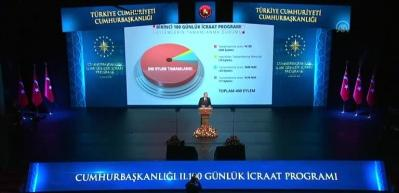 Erdoğan İkinci 100 Günlük Eylem Planı açıkladı
