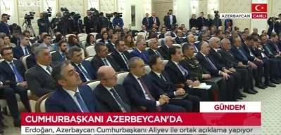 Erdoğan ile Aliyev'den ortak açıklama yaptı
