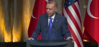 Erdoğan'dan ABD'de önemli açıklamalar