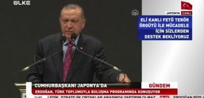 Erdoğan, Japonya'da müjdeleri sıraladı! Oylama yapıp talimatı verdi...