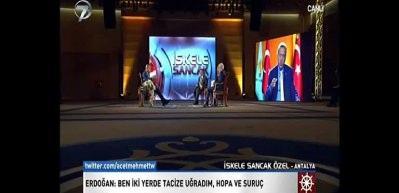 Erdoğan Kanal 7 - Ülke Tv yayınında konuştu