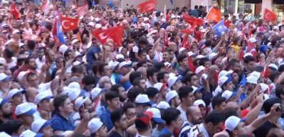Erdoğan Kasımpaşa'da halka seslendi