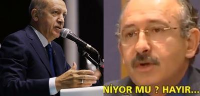 Erdoğan Kılıçdaroğlu'nun vizyonunu böyle özetledi