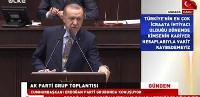 Erdoğan resti çekti! Son sözü söyledi