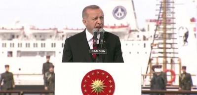 Erdoğan, Samsun'dan ilan etti: Bugünden itibaren...