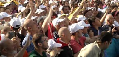Erdoğan Sarıyer'de halka hitap etti