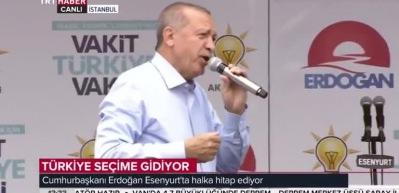 Erdoğan: Seçim güvenliğiyle ilgili her türlü tedbiri aldık