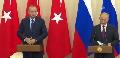Erdoğan: 'Silahlardan arındırılmış bir bölge oluşturulmasını kararlaştırdık'