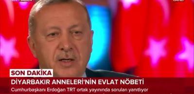 Erdoğan: Temennim burada geri sayım başlar, anneler yavrularına kavuşur