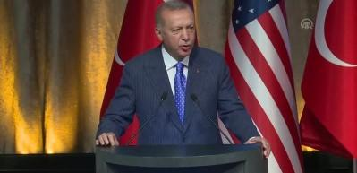 Erdoğan: 'Terör örgütü 'FETÖ'nün' maskesini tüm dünyada indireceğiz'