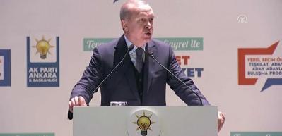 Erdoğan uyardı: Mağrur olma! Senden büyük Allah var!
