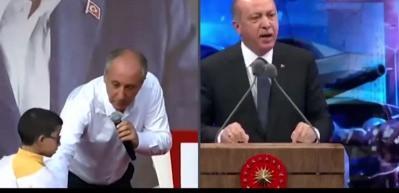 Erdoğan ve İnce arasındaki fark