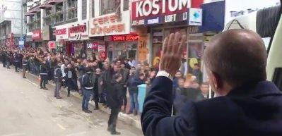 Erdoğan'a Van'da görülmemiş karşılama
