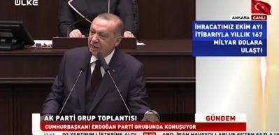 Erdoğan'dan kırmızı et açıklaması!