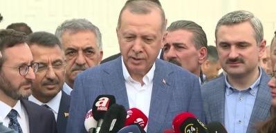 Erdoğan'dan 'Pençe harekatı' mesajı