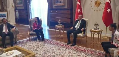 Erdoğan'ı duygulandıran anlar! Sevilay'ın telefonu çalınca...