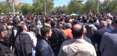 Ermenistan'da 80 kişi gözaltına alındı