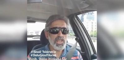 Erzurumlu Kemal Sağlar'ın Binali Yıldırım şarkısı rekor kırdı!