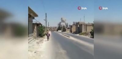 Esad bayram günü vurdu