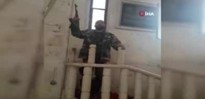 Esad rejimi camileri tahrip etti