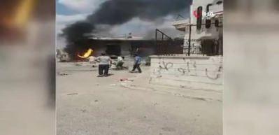 Esed rejimi ve Rusya'dan İdlib'e saldırı! Çok sayıda ölü var